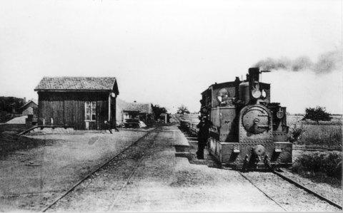 Gare et locomotive