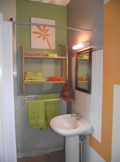Salle d'eau chambre d'hôte Loir-et-Cher
